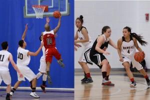 Photo of RRC Rebels men's and women's Basketball teams