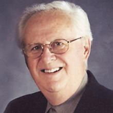 Photo of Lucien Mousseau and link to Free Press obituary
