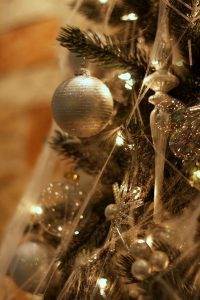 Photo of Christmas tree ornaments