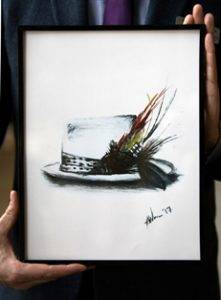 Photo of Gord Downie print
