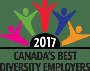 Best Diversity Employer 2017 logo