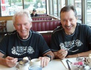 Photo of Wayne Ferguson and Guy Dugas