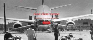 Screen shot of Gimli Glider Website