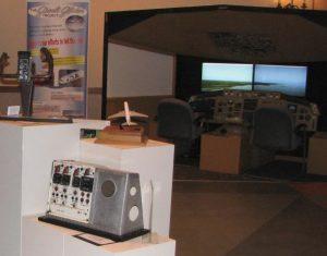 Photo of the Gimli Glider Exhibit