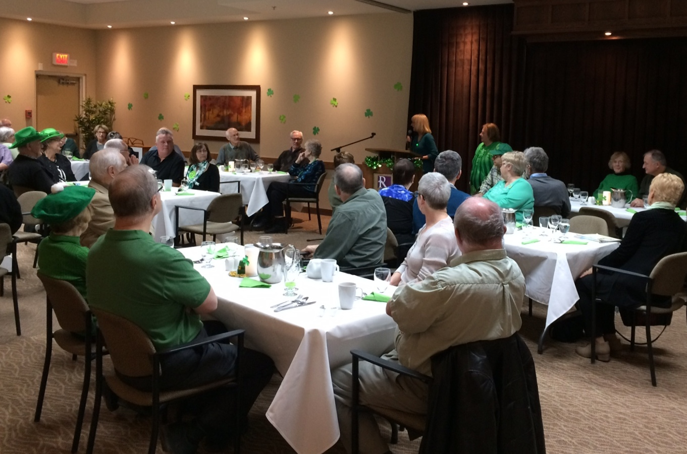 HG St.Patrick's Day Luncheon