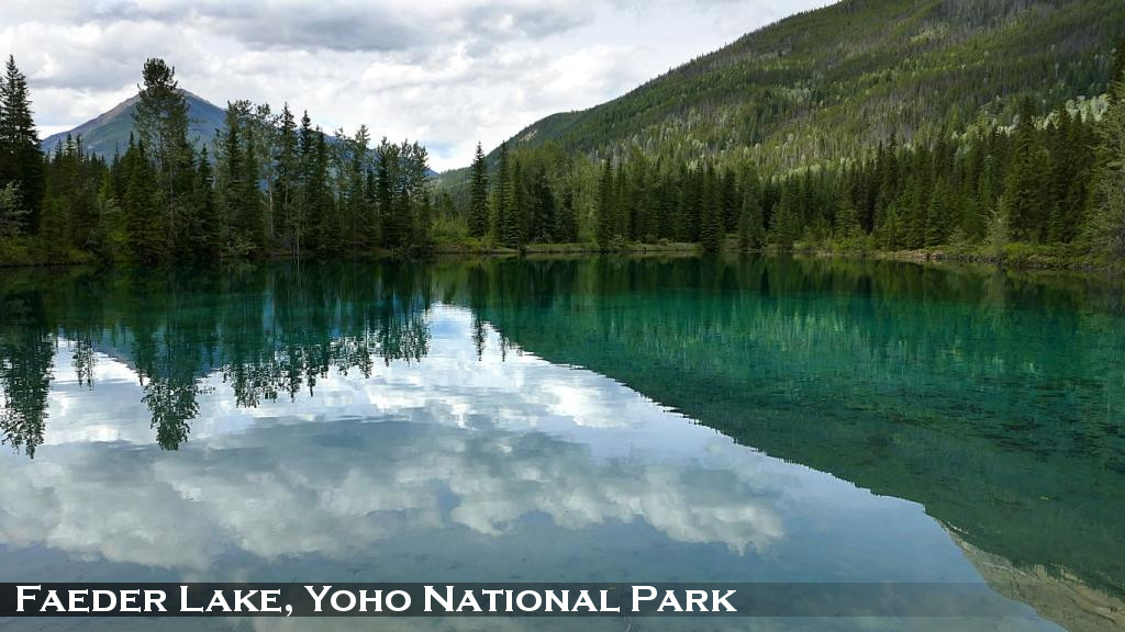 Faeder Lake, Yoho National Park